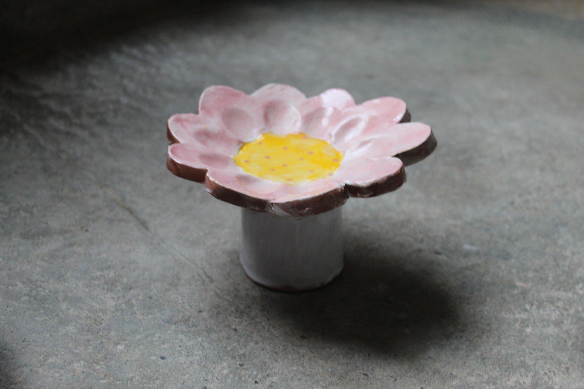alzatina a fiore
