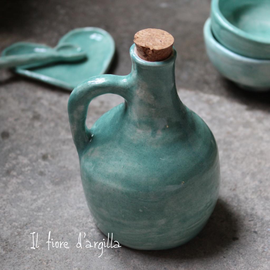 olio e ceramica