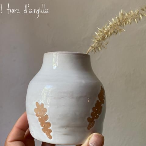 piccolo vaso con Spighe