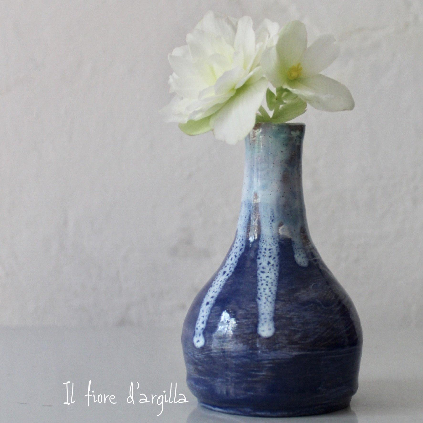Piccolo vaso blu