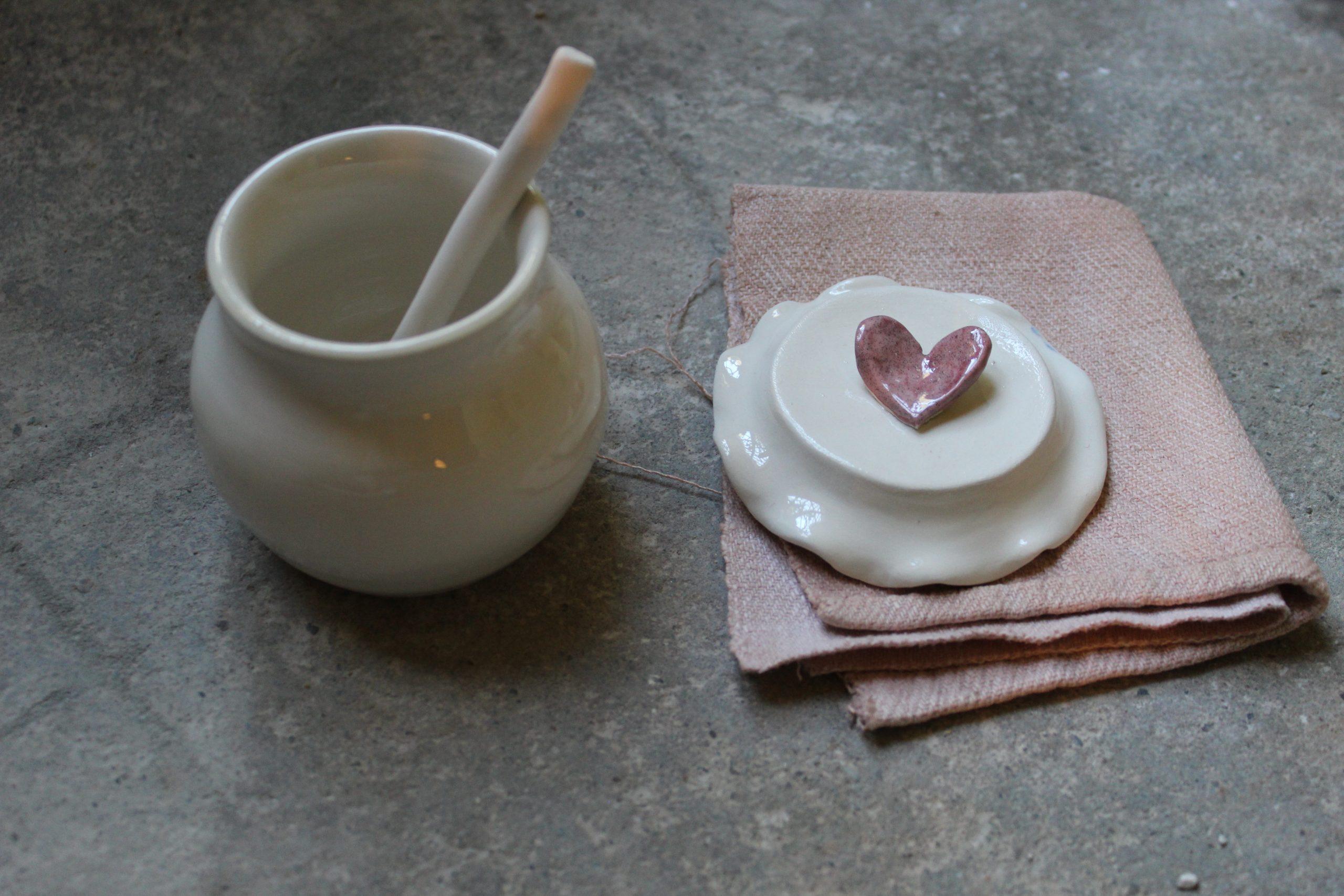 barattolo con galetta romantico