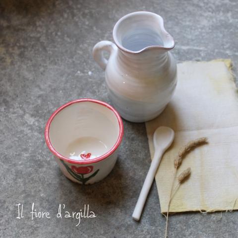 tazza e brocca
