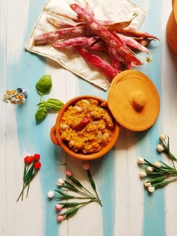 Zuppa di borlotti Daniela Squeo. Ricetta sul blog